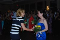 Nicole Cook is voted member of Prom Court.