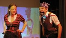 Ella Engle and PJ Butler in Peter Pan