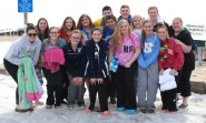 RHS SGC members at the Polar Plunge