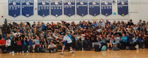 Class of 2019 roller coaster photo by Michelle Downey