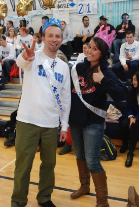 Chad Bigsby and Amanda Lanigan were crowed Mr. and Ms. Rockland after being voted for by RHS students.