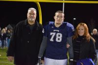 Andrew Doig with his parents Colleen and George