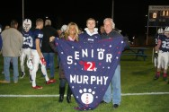 Tyler Murphy and his parents, Gail and Stephen