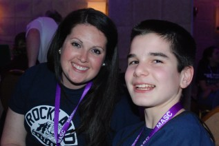 RHS SGC Advisor, Joanne White and Tyler Beatrice