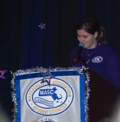 2015-2016 MASC President, Hannah Goodale