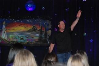 Keynote speaker, Bob Upgren during his presentation