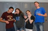 Ryan Sugrue, Boston College, Kate Dorney, UMass Lowell, Jenna O'Connor, Nichols College, & Jared Ochenduszco, Worchester State