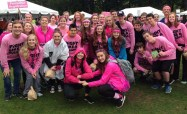SGC members at annual Breast Cancer Walk in Boston this past October
