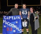 Captain John MacDonald with his parents Christine and John