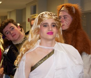 Matty O'Brien is ready to perform in the role of Thisbe.
