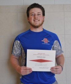 Veritas Sports Editor,Joe Taft was recognized for his writing with a Special Achievement Award from the New England Scholastic Press Association.