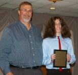Zachary Webb received a Social Science/History award.