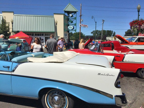 Which Bel Air do you like better-blue or red?