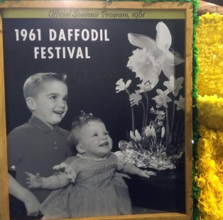 Pictures on the float celebrated the previous 84 festivals and their start in Sumner.