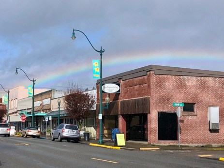 The rainbow says it all.
