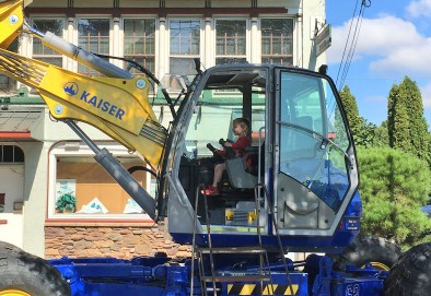 And dream of one day driving a spider excavator