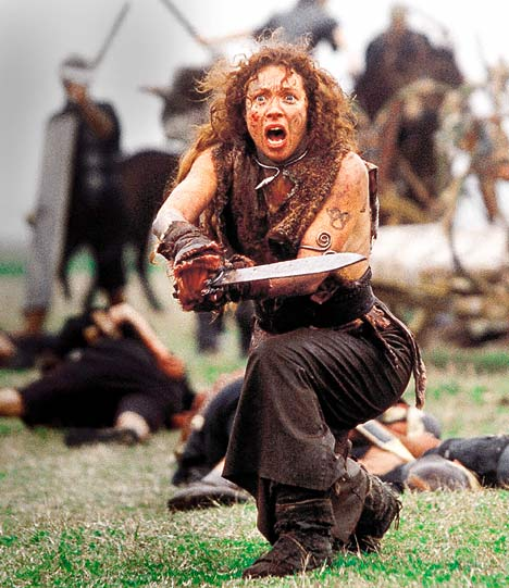 Alex Kingston as Boudica