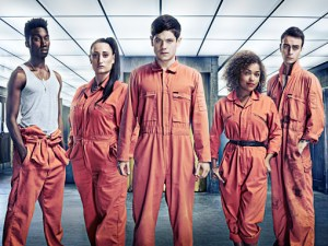 Misfits, series three, with new guy