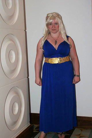 Me being a sunburnt Daenerys, shortly after reaching Qarth.