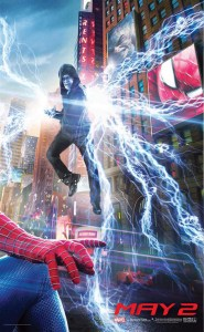 The Amazing Spider-Man 2, poster.