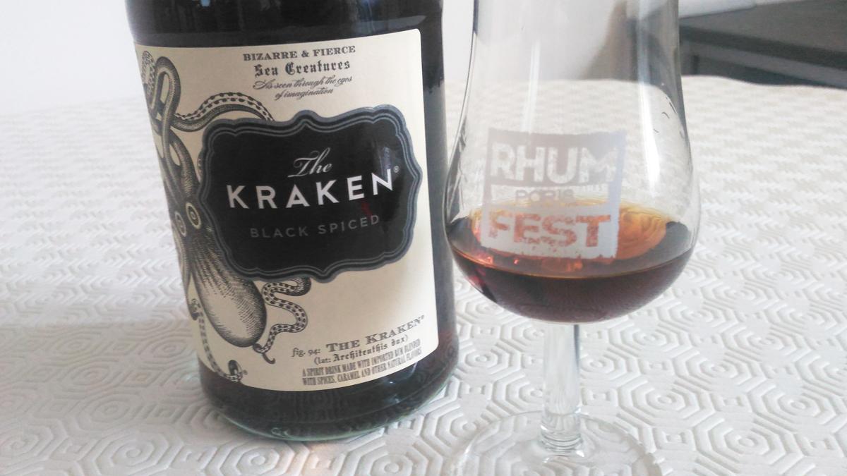 The Kraken – Black Spiced Rum [5/365]