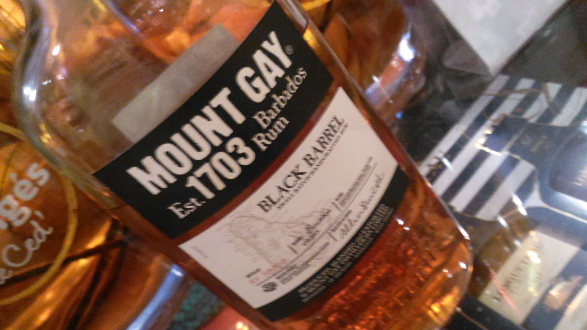 Mount Gay Black Barrel – Rhum de la Barbade [19/365]