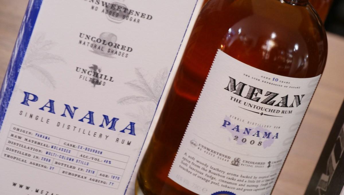 Mezan Panama 2008 – Rum millésimé [156/365]