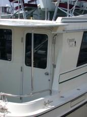 Cockpit hardtop - starboard view