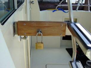 Alternative location of motor mount