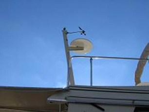 Custom radar mast