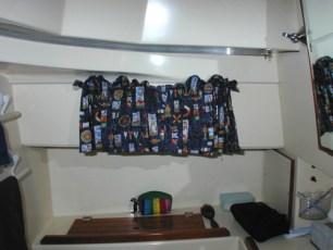 Curtain in head
