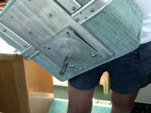 Custom navigator seat mount