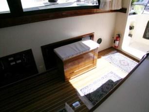 Custom storage bench