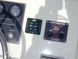 Electronics Options - flybridge trim tab controls