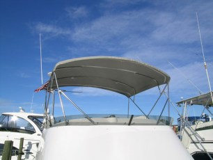 Bimini in Gray - front view