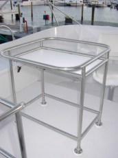 Custom flybridge table