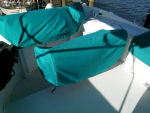 Console and seat cover - hull 91