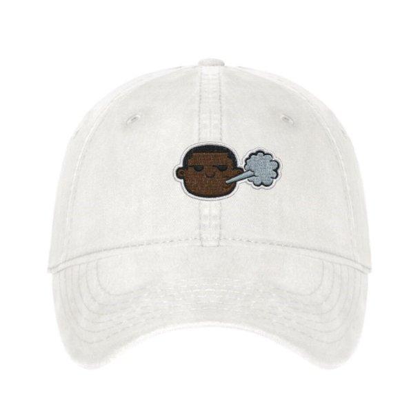 Cream Piff Hat