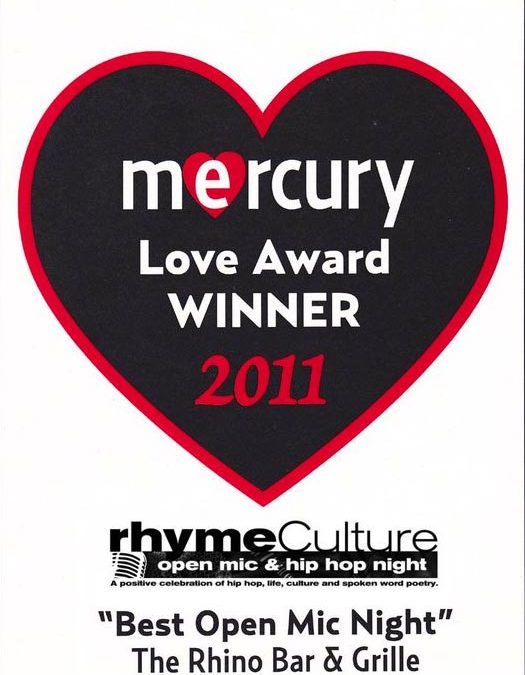 rhymeCulture @ The Rhino Bar voted Best Open Mic in Newport for 2011