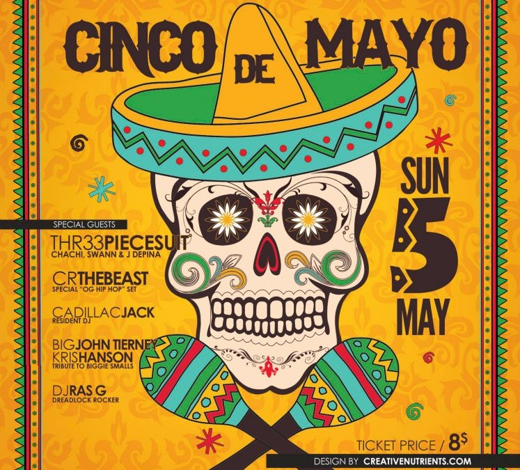 Cinqo de Mayo @ The Parlour | SUNDAY 5.5.13