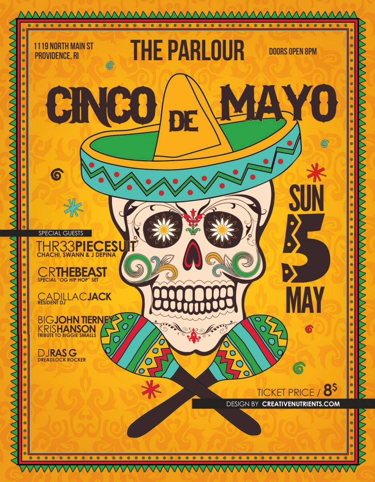 Cinco de Mayo @ The Parlour
