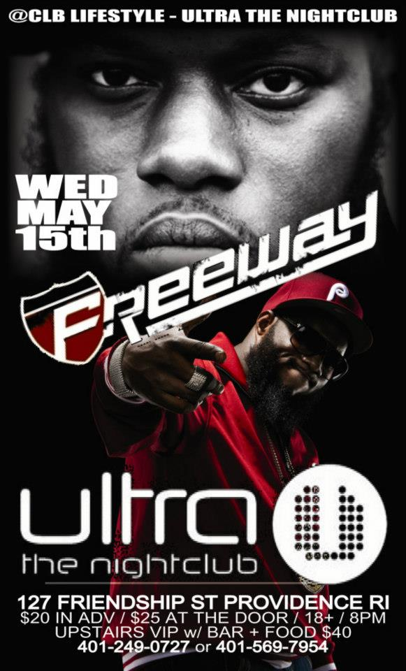 Freeway at Ultra | Wednesday 5.15.13