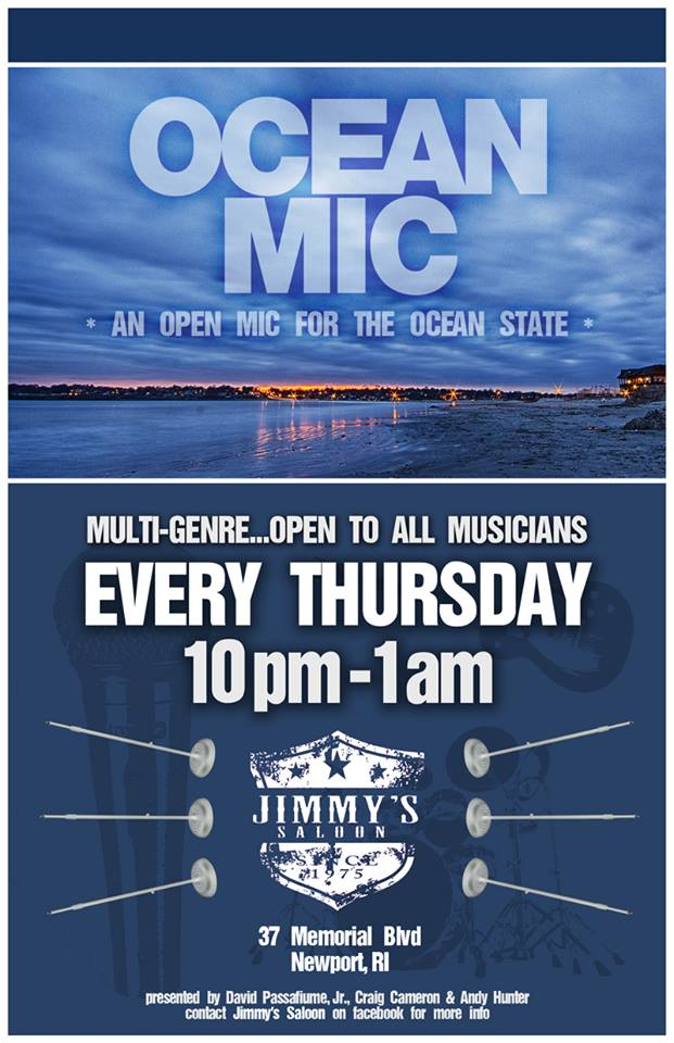 Ocean Mic - Open Mic for the Ocean State