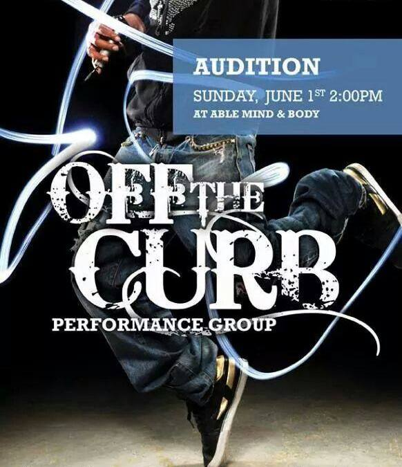 Off The Curb Auditions Sunday 6.1.14 @ 2pm