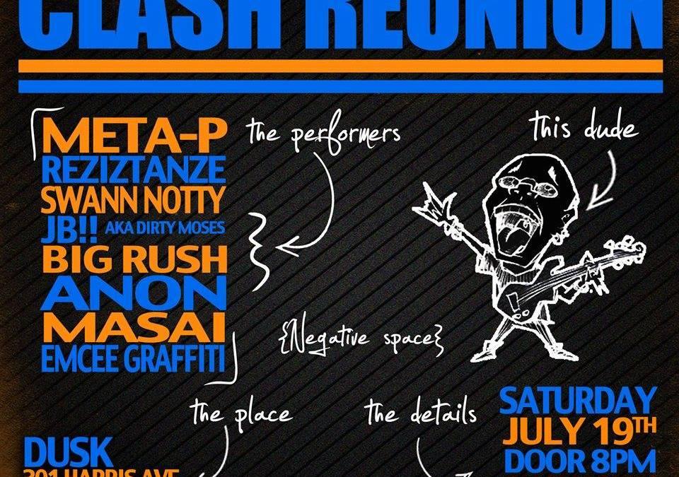 1st Annual Clash Reunion @ Dusk | SATURDAY 7.19.14