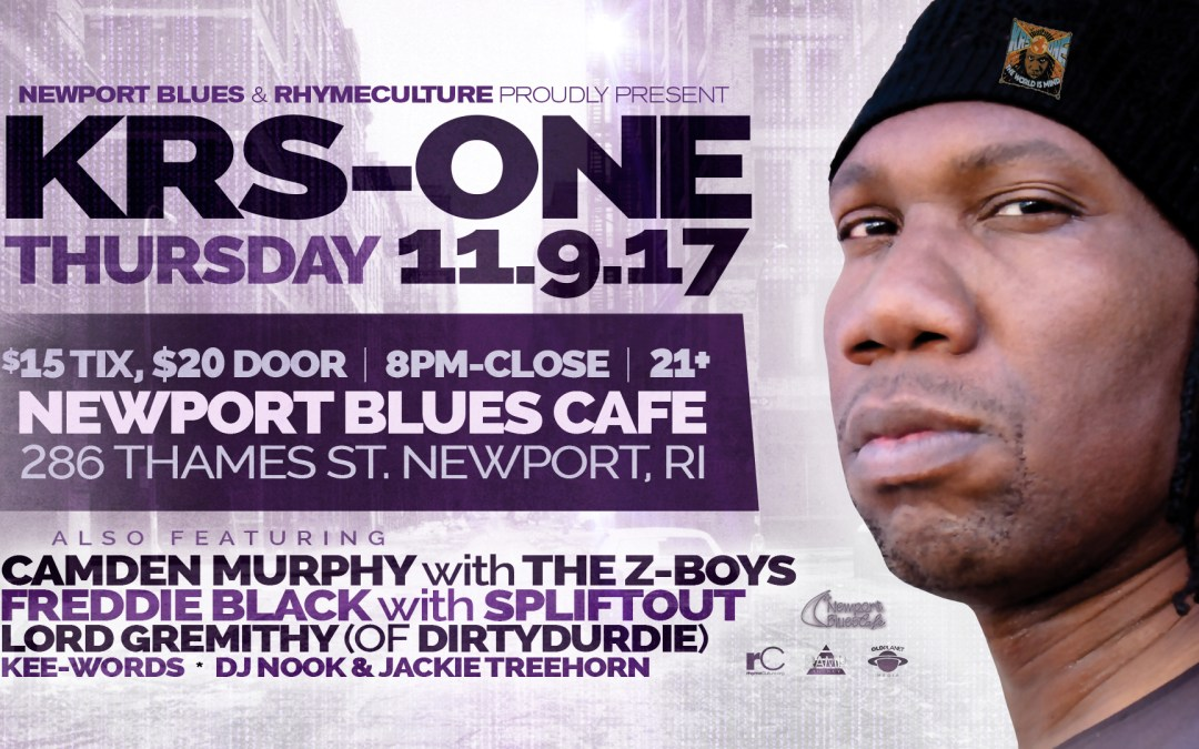 KRS-One @ Newport Blues Cafe