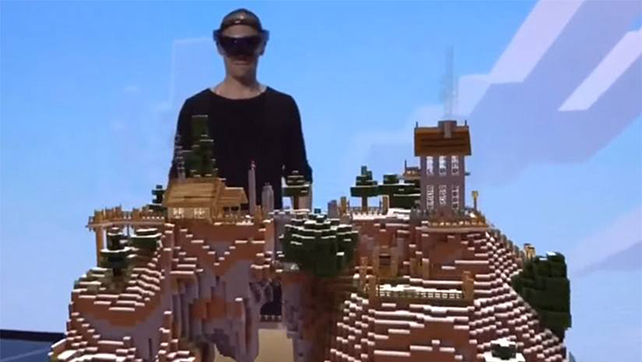 hololensminecraft