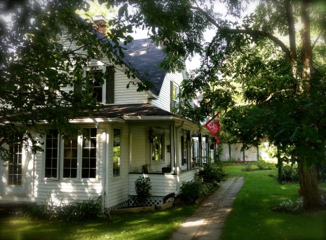 Getting to Grand-Metis is half the fun. B&Bs like this one, called Auberge le coeur d'or in North Hatley, make the trip extra special.