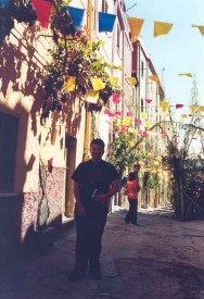 Lovely festival in Bosa, Sardinia, in September 2000
