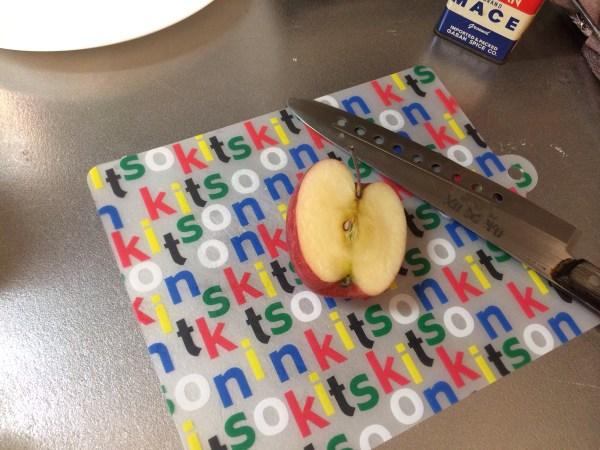 余ったリンゴ